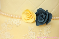 4 tier wedding cake handmade roses2.jpg
