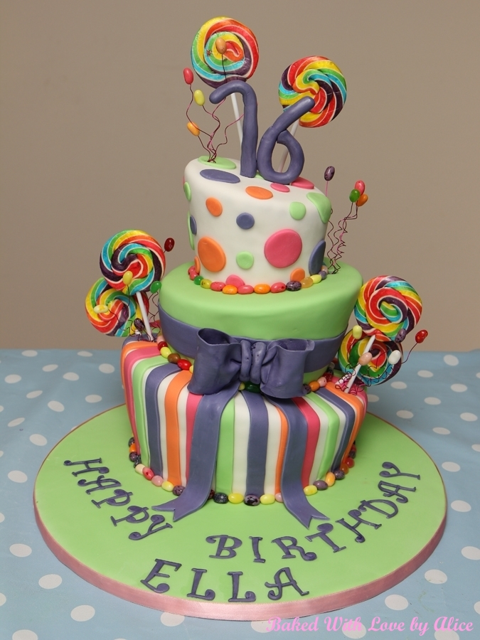 Speciality Celebration Bespoke Cakes Baked With Love By Alice