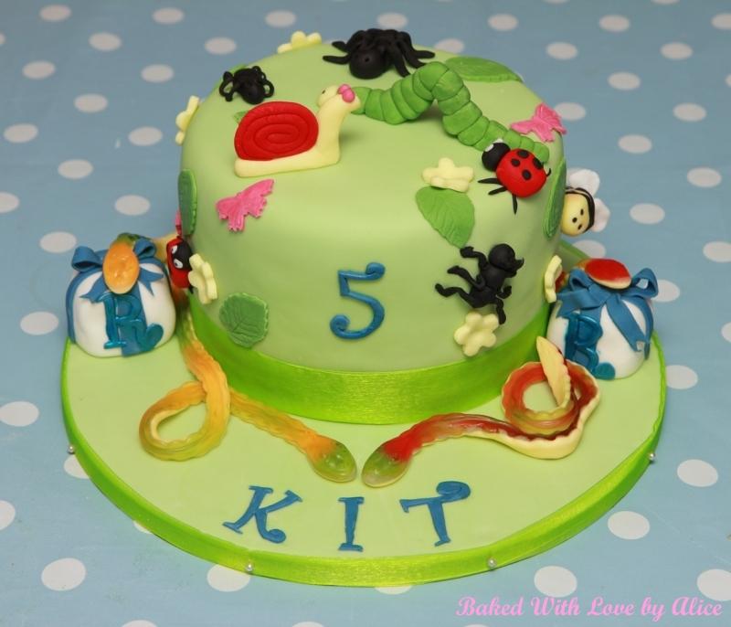 Creepy-Crawly Cake Recipe — Dishmaps