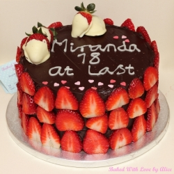chocolate-and-strawberry-cake