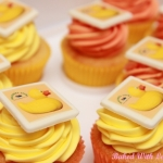 Duck-race-cupcakes