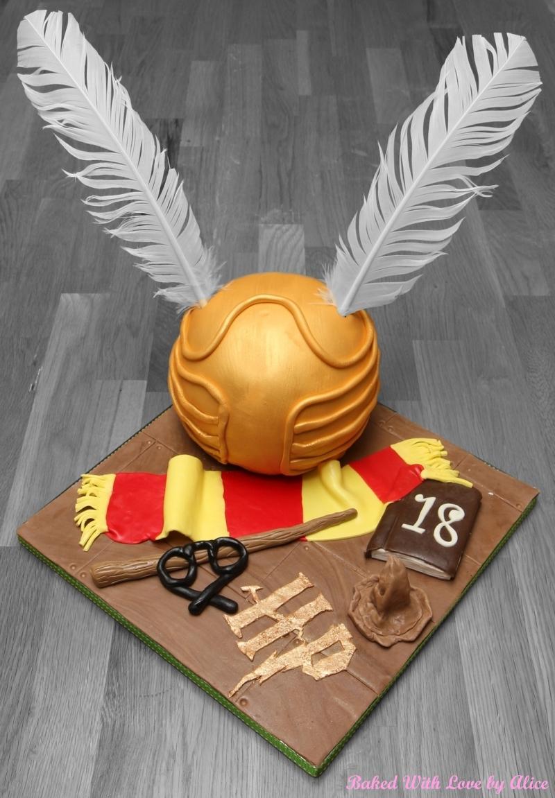 Harry Potter Wedding Cake Uk