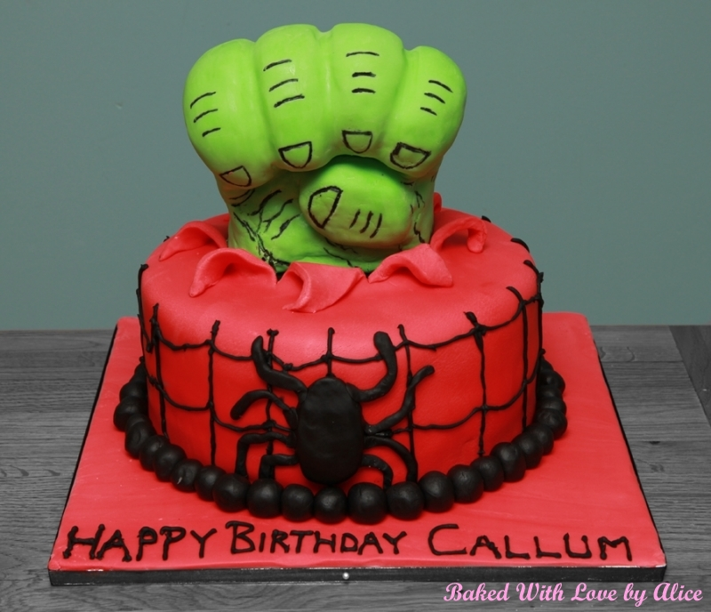 Hulk Fist Cake Baked With Love by Alice