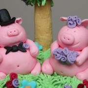 pigs wedding cake 3