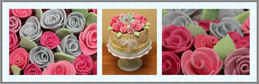 Rosebud Cake
